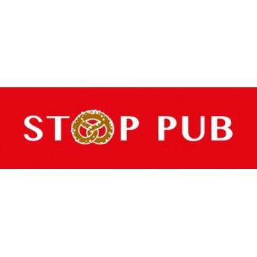 """Stop Pub modèle """"BRETZEL"""""""