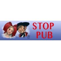 """Stop Pub modèle """"Couple Alsacien"""""""