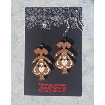 Boucles d'oreilles ''Petites Alsaciennes''