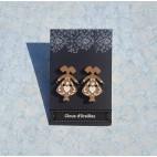 Boucles d'oreilles Clou ''Petites Alsaciennes''